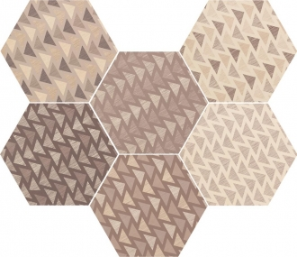 Hexatile Lovely Color Mate