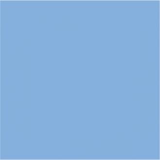 Калейдоскоп блестящий голубой 5056