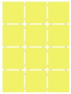 Конфетти желтый блестящий 1233