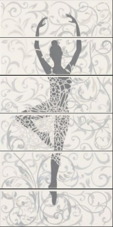 Lirica Cortese Bianco Ballerina A Mix 6