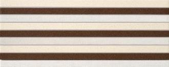 Look Marrone Stripes
