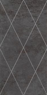 Maiora Rhombus Fregio Platino Nero