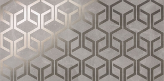Marvel Grey Fleury Hexagon