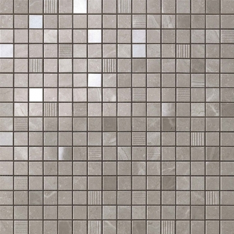 Marvel Grey Fleury Mosaic