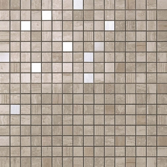 Marvel Travertino Silver Mosaic