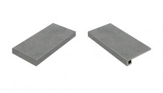 Materia Carbonio Scalino Angolare Sinistro