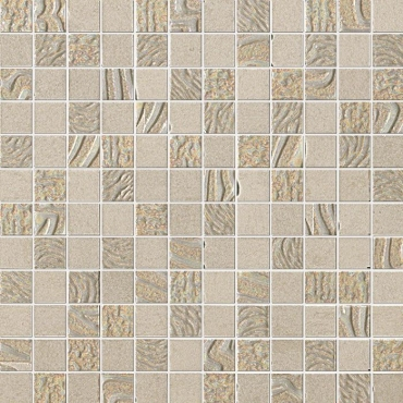 Мозаика Fap Meltin Cemento Mosaico 30,5x30,5 сатинированная