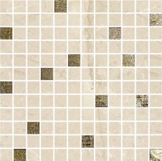 Mosaico Alberona Marfil-Gold