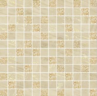 Mosaico Lux Mix Quadretti Avorio