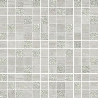 Mosaico Lux Mix Quadretti Grigio