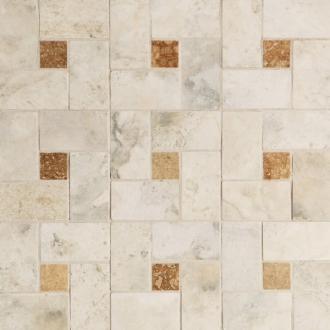 Мозаика Navona Mosaico Intreccio White
