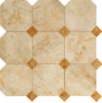 Мозаика Navona Mosaico Ottagona Gold