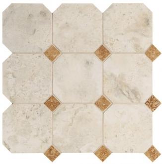 Мозаика Navona Mosaico Ottagona White