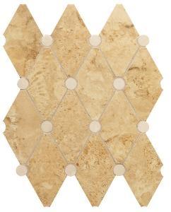 Мозаика Navona Mosaico Rombo Gold