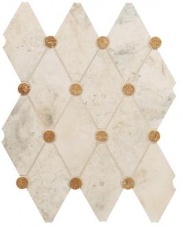 Мозаика Navona Mosaico Rombo White