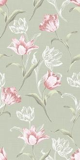 Норфолк Цветы зеленый 11087