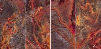 Pietra Lavica Lava C (Rosso) S/4