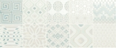 Preinciso Patchwork White/Mint