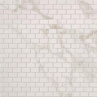 Roma Brick Calacatta Mosaico