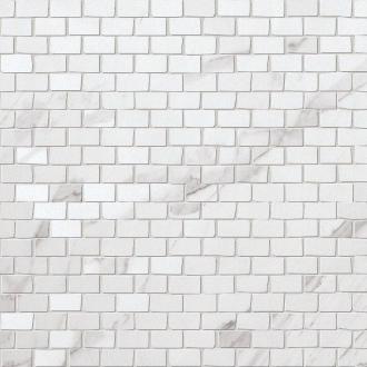 Roma Brick Statuario Mosaico