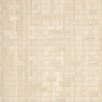 Roma Brick Travertino Mosaico