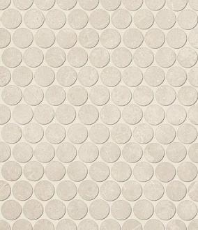 Roma Pietra Round Mosaico