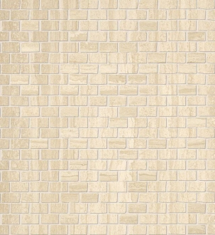 Roma Travertino Brick Mosaico