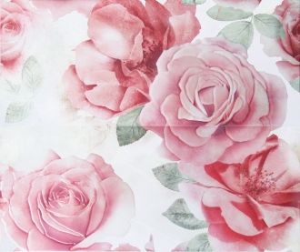 Rosone Flor. Bianco 2 Pz