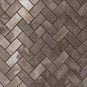 S.O. Black Agate Herringbone Mosaic