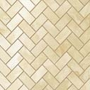 S.O. Honey Amber Herringbone Mosaic