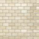 S.O. Ivory Chiffon Brick Mosaic