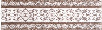 Шамони коричневый бордюр 01