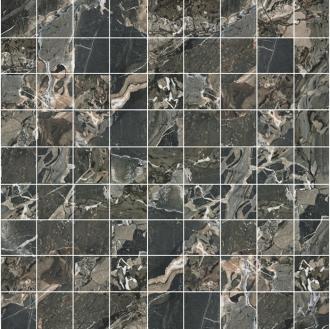 Smart Mosaico Ebony (3x3) Nat
