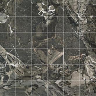 Smart Mosaico Ebony (5x5) Lap. Rett.