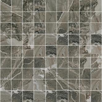 Smart Mosaico Taupe (3x3) Lap. Rett.