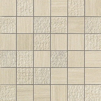 Sunrock Travertino Almond Mosaico Mix