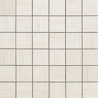 Sunrock Travertino White Mosaico Matt
