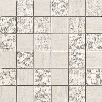 Sunrock Travertino White Mosaico Mix