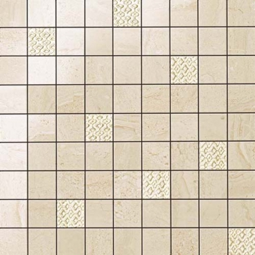Мозаика Atlas Concorde Russia Suprema Ivory Mosaic 30x30 глянцевая