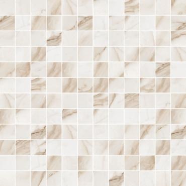 Мозаика Flaviker Supreme Calacata Mos. 30x30 полированная