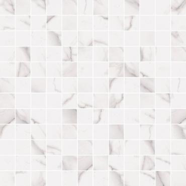 Мозаика Flaviker Supreme Royal Statuario Mosaico Anticato 30x30 матовая
