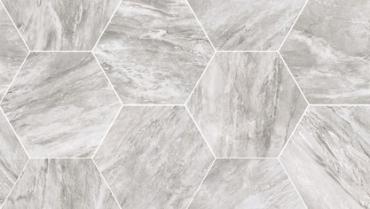 Мозаика Flaviker Supreme Silver Dream Mosaico Hexagon 29,2x51 матовая