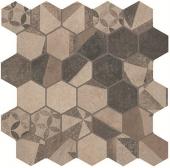 Terra Deco Esagono Beige Mosaico