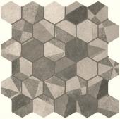 Terra Deco Esagono Grey Mosaico