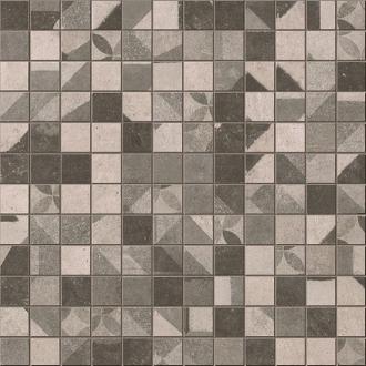 Terra Deco Grey Mosaico