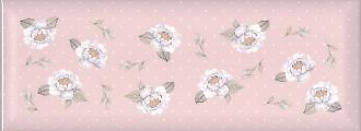 Веджвуд Цветы розовый грань 15032