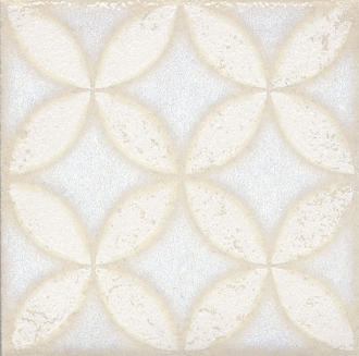 Вставка Амальфи орнамент белый STG/B401/1266
