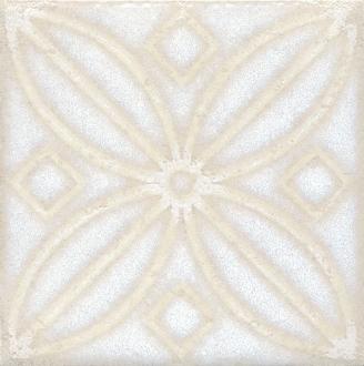 Вставка Амальфи орнамент белый STG/B402/1266