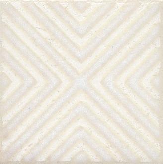 Вставка Амальфи орнамент белый STG/B403/1266