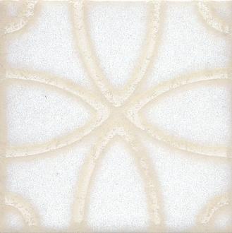 Вставка Амальфи орнамент белый STG/B405/1266